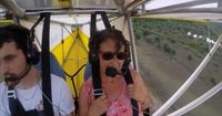 Katze überrascht Piloten in unglaublichen Höhen!