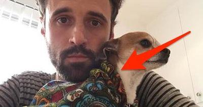 ER filmt sich beim Yoga: WAS sein Hund macht, begeistert Millionen!