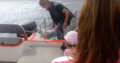 Sie wollten einen normalen Bootsausflug machen...