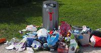 Aus Angst gehen viele Deutsche nicht mehr an den Müll