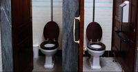 Dieser Mann wollte einfach nur auf Toilette gehen... doch dann passiert DAS!