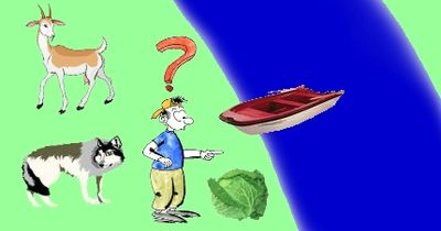 Rätsel: Schaffst Du es, dem Schiffer zu helfen?