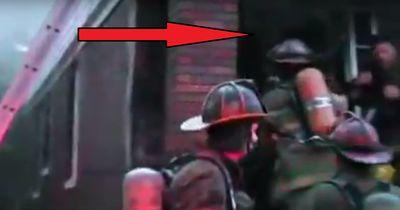 Die Heldentat diesen Feuerwehrmannes berührt die Welt