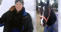 Pferderennreiterin schlachtet ihr Pferd, nachdem es schwer krank wurde