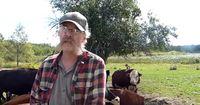 Eigentlich führte er seine Farm, um Fleisch zu verkaufen...