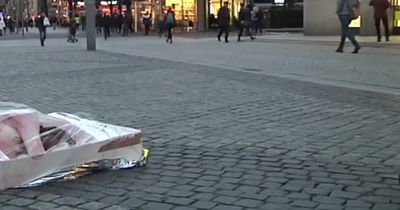 PETA startete gewagte Protest-Aktion in Leipzig