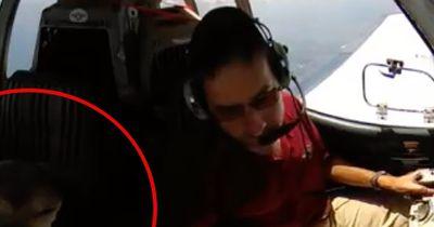 Mit seinem Flugzeug verübt er wahre Heldentaten